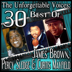 The Unforgettable Voices: 30 Best Of James Brown Percy Sledge & Curtis Mayfield