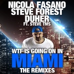 NICOLA FASANO/STEVE FOREST/DUHER/STEVE TMS - Wtf Is Going On In Miami (The Remixes) (Front Cover)