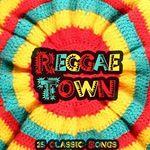 VARIOUS - Reggae Town Reggae Dance & Latin Sound (Front Cover)
