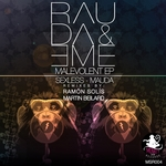 RAUDA & EME - Malevolent EP (Front Cover)