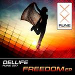 DELLIFE - Freedom EP (Front Cover)
