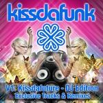 VARIOUS - Kissdafunk V1: Kissdafuture (DJ Edition) (Front Cover)