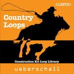 UEBERSCHALL - Country Loops (Sample Pack Elastik Soundbank) (Front Cover)