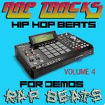 RAP BEATS - Rap Tracks Hip Hop Instrumentals Vol 4 (Front Cover)