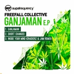 FREEFALL COLLECTIVE - Ganjaman EP (Front Cover)