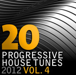 VARIOUS - 20 Progressive House Tunes 2012 Vol 4 (Front Cover)