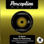 G SPICE - Keep On Searching (Front Cover)