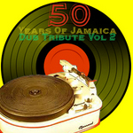 VARIOUS - 50 Years Of Jamaica Dub Tribute Vol 2 (Front Cover)