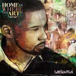 SUBSTANTIAL - Home Is Where The Art Is (Front Cover)