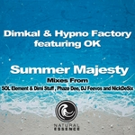 DIMKAL/HYPNO FACTORY feat OK - Summer Majesty (Front Cover)