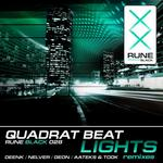 QUADRAT BEAT - Lights (Front Cover)