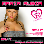 RUBIA, Maria - Say It (2001 Original Mixes) (Front Cover)