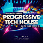 LOOPMASTERS - Progressive Tech House (Sample Pack WAV/APPLE/LIVE/REASON) (Front Cover)