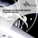 ONE, Alexander/DAVIDE BATTISTA - Forgotten Summer (Front Cover)