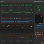 SINEVIBES - Diffusion: Waveshape Modeling Synthesizer (AudioUnit Plugin for OS X) (Front Cover)