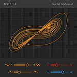 SINEVIBES - Drift: Fractal Modulator (AudioUnit Plugin) (Front Cover)