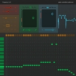 SINEVIBES - Frequency: Audio-Controlled Synthesizer (AudioUnit Plugin) (Front Cover)