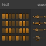SINEVIBES - Strobe: Gate Sequencer (AudioUnit Plugin) (Front Cover)