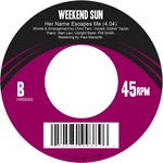 WEEKEND SUN - You're Good To Me (Back Cover)