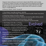 LEE PEARSON JR COLLECTIVE - Evolved: The Debut EP (Back Cover)