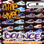 NINE LIVES - Bounce EP (Front Cover)