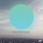 MONSOON SEASON feat MISS BEE - Green On Blue (Front Cover)