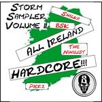 SHILKA/THE NIHILIST/PIERZ/BSK - Storm Sampler Volume 2: All Ireland Hardcore (Front Cover)