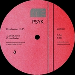 PSYK - Distane EP (Front Cover)