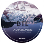 DYL/DIPHASIC/VRH - Glaciers EP (Front Cover)