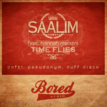 SAALIM feat HANNAH MANCINI - Time Flies (remixes) (Front Cover)