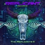 HYPERACTIVE/WIZARD LIZARD/REMOVE/MENOG/KHOPAT - The Replicants Volume 2 (Front Cover)