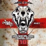 DAM - Social Teknology: Riot EP Vol 10 (Front Cover)