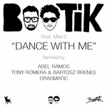 BOOTIK feat MAX C - Dance With Me (Front Cover)