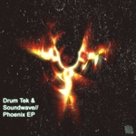 DRUM TEK/SOUNDWAVE - Phoenix EP (Front Cover)