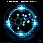 SPACEDRAGON - MDMA (remixes) (Front Cover)