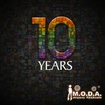 VARIOUS - Moda 10 Years (Front Cover)