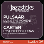 PULSAAR/CARTER - Living The Moment (Front Cover)