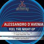 D'AVENIA, Alessandro - Feel the Night EP (Front Cover)