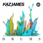 JAMES, Kaz - Drums (Front Cover)