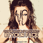 DJ DAVID vs LUIS GZ & DJ KOLYN - In Your Face (Front Cover)