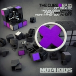 TROUBLEGUM/PZYON/ASIAN TRASH BOY feat JOT MAXI MC - The Cube EP (Front Cover)