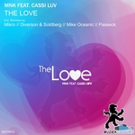 MNK feat CASSI LUV - The Love (remixes) (Front Cover)