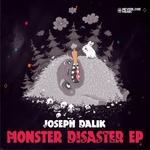 DALIK, Joseph - Monster Disaster EP (Front Cover)