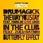 DRUMAGICK feat MARK DE CLIVE LOWE/ZULU NATION - Dance Box Album Sampler 4 EP (Front Cover)