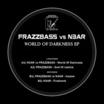 FRAZZBASS vs N3AR - World Of Darkness EP (Back Cover)