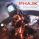 PHAJIK - Immolator (Front Cover)