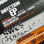 INSTIGATOR/DISTOR/TAVUK/SKILLBANG3R/SWES - Infection EP (Back Cover)