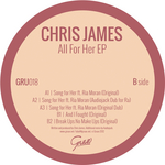 JAMES, Chris feat RIA MORAN - All For Her EP (Front Cover)