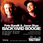 BANDIT, Pete/JASON SHAE - Back Yard Boogie (Front Cover)