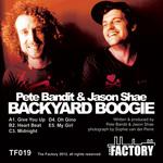 BANDIT, Pete/JASON SHAE - Back Yard Boogie (Back Cover)